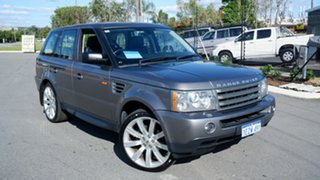 2007 Land Rover Range Rover Sport L320 08MY TDV6 Grey 6 Speed Sports Automatic Wagon.