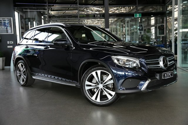 Used Mercedes-Benz GLC-Class X253 GLC250 9G-Tronic 4MATIC North Melbourne, 2016 Mercedes-Benz GLC-Class X253 GLC250 9G-Tronic 4MATIC Blue 9 Speed Sports Automatic Wagon
