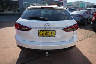 2013 Mazda 6 6C Touring White 6 Speed Automatic Wagon