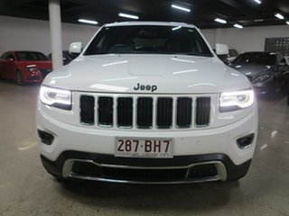 2016 Jeep Grand Cherokee WK MY15 Limited White 8 Speed Sports Automatic Wagon.