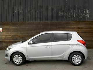 2013 Hyundai i20 PB MY14 Active Silver 6 Speed Manual Hatchback