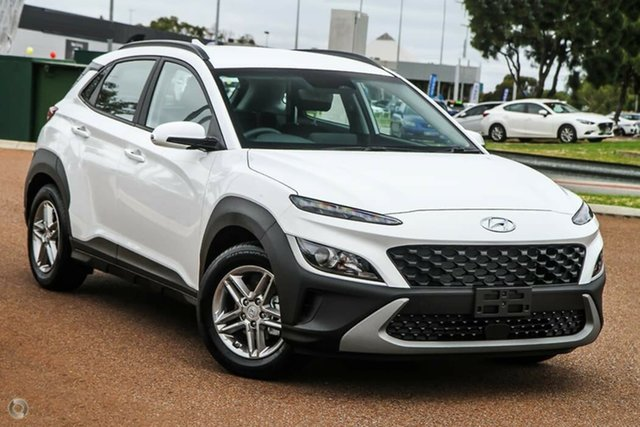 New Hyundai Kona Os.v4 MY21 Active 2WD Nailsworth, 2021 Hyundai Kona Os.v4 MY21 Active 2WD Atlas White 8 Speed Constant Variable Wagon