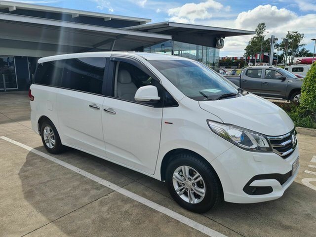 Used LDV G10 SV7A Yamanto, 2019 LDV G10 SV7A White 6 Speed Sports Automatic Wagon