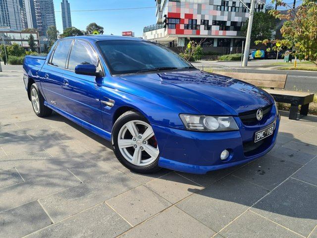 Used Holden Crewman VZ SS Z South Melbourne, 2005 Holden Crewman VZ SS Z Blue 6 Speed Manual Utility