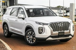 2021 Hyundai Palisade LX2.V1 MY21 2WD White Cream 8 Speed Sports Automatic Wagon