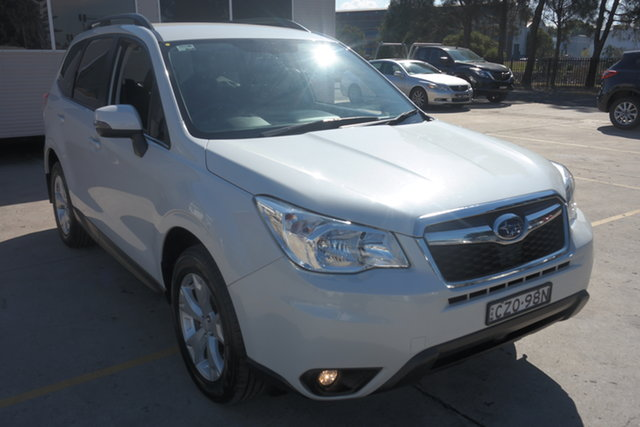 Used Subaru Forester S4 MY15 2.0D-L CVT AWD Maryville, 2015 Subaru Forester S4 MY15 2.0D-L CVT AWD White 7 Speed Constant Variable Wagon