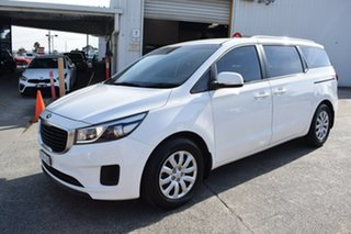 2017 Kia Carnival YP MY18 S White 6 Speed Sports Automatic Wagon.