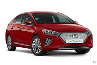 2021 Hyundai Ioniq AE.V4 MY21 electric Premium Fiery Red 1 Speed Reduction Gear Fastback