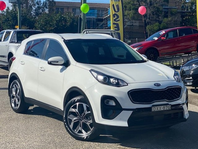 Used Kia Sportage QL MY18 Si 2WD Premium Liverpool, 2018 Kia Sportage QL MY18 Si 2WD Premium White 6 Speed Sports Automatic Wagon