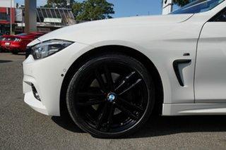 2017 BMW 440i F33 MY17 40I Alpine White 8 Speed Automatic Convertible.