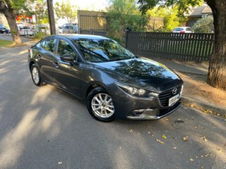 2017 Mazda 3 BN5276 Maxx SKYACTIV-MT Grey 6 Speed Manual Sedan.