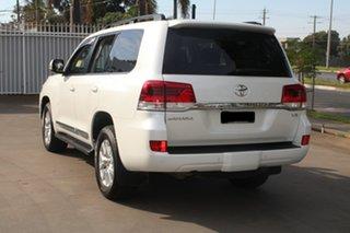 2018 Toyota Landcruiser VDJ200R LC200 Sahara (4x4) White 6 Speed Automatic Wagon