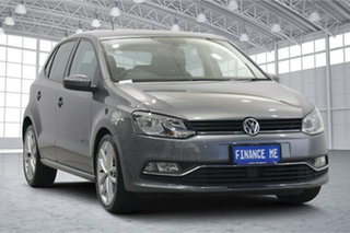 2015 Volkswagen Polo 6R MY16 81TSI DSG Comfortline Pepper Grey 7 Speed Sports Automatic Dual Clutch.