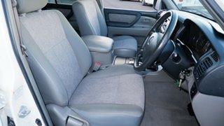 2003 Toyota Landcruiser HDJ100R GXL White 5 Speed Automatic Wagon