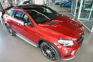 2019 Mercedes-Benz GLE-Class C292 MY809 GLE43 AMG Coupe 9G-Tronic 4MATIC Red 9 Speed