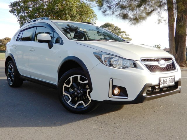 Used Subaru XV G4X MY17 2.0i-L Lineartronic AWD Glenelg, 2016 Subaru XV G4X MY17 2.0i-L Lineartronic AWD White 6 Speed Constant Variable Wagon