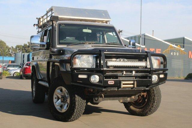 Used Toyota Landcruiser VDJ76R 09 Upgrade GXL (4x4) West Footscray, 2011 Toyota Landcruiser VDJ76R 09 Upgrade GXL (4x4) 5 Speed Manual Wagon