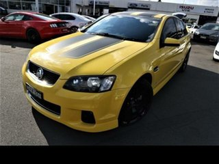 2011 Holden Commodore VE II MY12 SS Yellow 6 Speed Manual Sedan.
