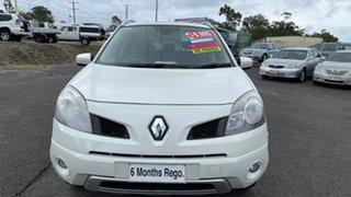 2009 Renault Koleos H45 Dynamique (4x4) White Continuous Variable Wagon.