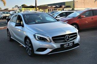 2014 Mercedes-Benz A-Class W176 805+055MY A180 D-CT Silver 7 Speed Sports Automatic Dual Clutch.