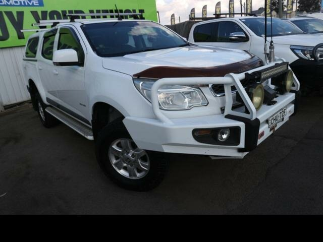 Used Holden Colorado RG LT (4x4) Kingswood, 2012 Holden Colorado RG LT (4x4) White 6 Speed Automatic Crew Cab Pickup
