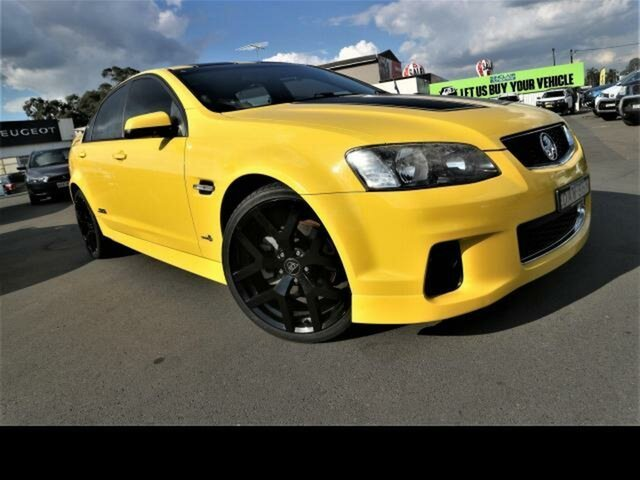 Used Holden Commodore VE II MY12 SS Kingswood, 2011 Holden Commodore VE II MY12 SS Yellow 6 Speed Manual Sedan