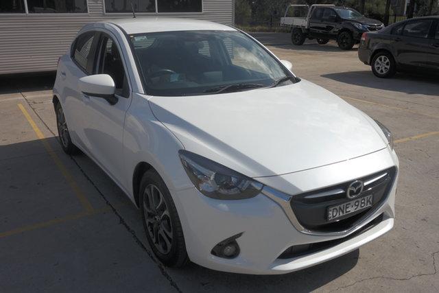 Used Mazda 2 DJ2HAA Genki SKYACTIV-Drive Maryville, 2017 Mazda 2 DJ2HAA Genki SKYACTIV-Drive White 6 Speed Sports Automatic Hatchback
