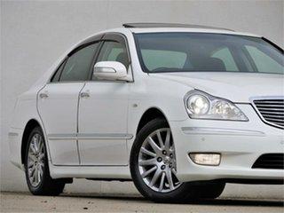 2006 Toyota Crown UZS186 Majesta White Automatic Sedan.
