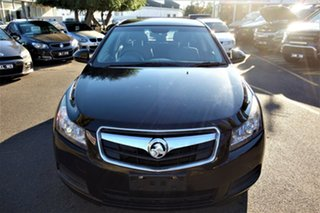 2010 Holden Cruze JG CD Black 6 Speed Sports Automatic Sedan