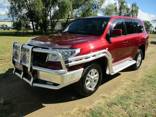 2011 Toyota Landcruiser VDJ200R 09 Upgrade GXL (4x4) Merlot Red 6 Speed Automatic Wagon