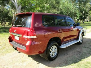 2011 Toyota Landcruiser VDJ200R 09 Upgrade GXL (4x4) Merlot Red 6 Speed Automatic Wagon.