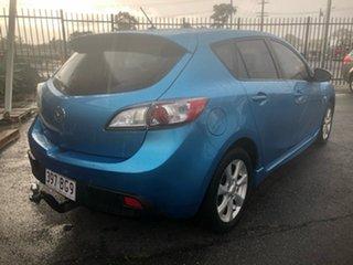 2009 Mazda 3 BL Maxx Sport Blue 5 Speed Automatic Hatchback.