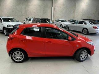 2011 Mazda 2 DE10Y1 MY11 Neo Red 5 Speed Manual Hatchback
