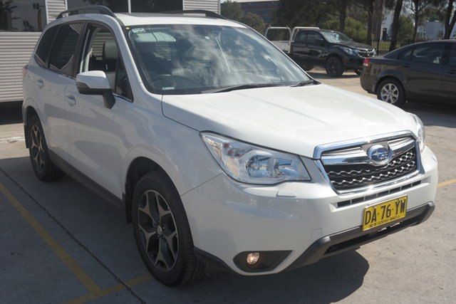 Used Subaru Forester S4 MY15 2.5i-S CVT AWD Maryville, 2015 Subaru Forester S4 MY15 2.5i-S CVT AWD White 6 Speed Constant Variable Wagon