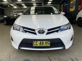 2015 Toyota Corolla ZRE182R Ascent White 7 Speed Constant Variable Hatchback.