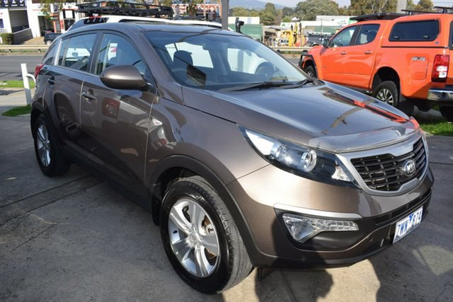 Used Kia Sportage SL MY13 SI Ferntree Gully, 2013 Kia Sportage SL MY13 SI Brown 5 Speed Manual Wagon