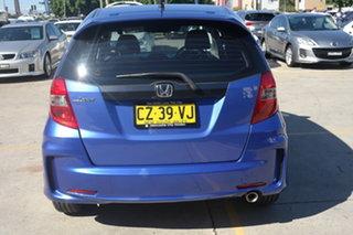 2012 Honda Jazz GE MY12 Vibe-S Blue 5 Speed Automatic Hatchback