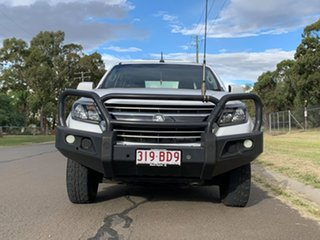 2018 Holden Colorado RG MY19 LS (4x4) (5Yr) White 6 Speed Automatic Cab Chassis.