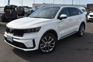 2020 Kia Sorento MQ4 MY21 GT-Line AWD White 8 Speed Sports Automatic Dual Clutch Wagon.