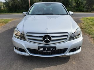 2011 Mercedes-Benz C-Class W204 C250 CGI Avantgarde Silver Sports Automatic Sedan
