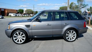 2007 Land Rover Range Rover Sport L320 08MY TDV6 Grey 6 Speed Sports Automatic Wagon