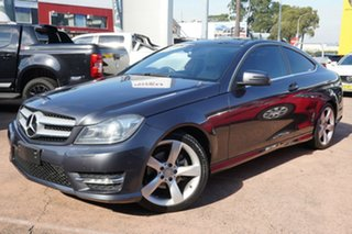 2014 Mercedes-Benz C250 W204 MY14 CDI Blue 7 Speed Automatic G-Tronic Coupe.