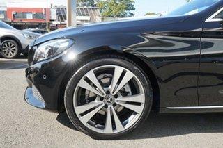 2018 Mercedes-Benz C200 205 MY18 Obsidian Black 9 Speed Automatic G-Tronic Sedan.