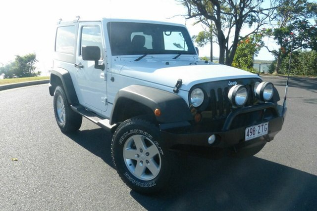 Used Jeep Wrangler JK MY2013 Sport Gladstone, 2013 Jeep Wrangler JK MY2013 Sport White 6 Speed Manual Softtop