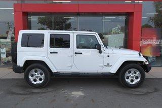 2015 Jeep Wrangler JK MY2015 Overland White 5 Speed Automatic Hardtop.