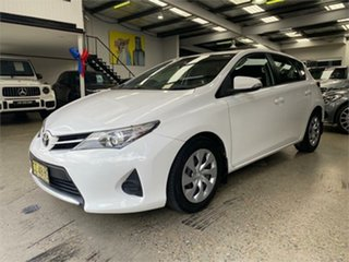 2015 Toyota Corolla ZRE182R Ascent White 7 Speed Constant Variable Hatchback