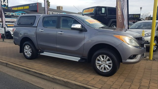 Used Mazda BT-50 XTR (4x4) Prospect, 2012 Mazda BT-50 XTR (4x4) Grey 6 Speed Manual Dual Cab Utility