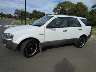 2008 Ford Territory SY TS (4x4) White 6 Speed Auto Seq Sportshift Wagon