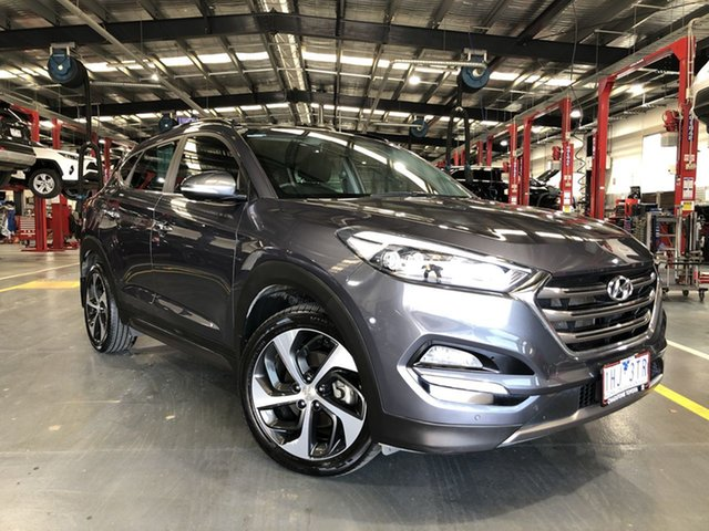 Pre-Owned Hyundai Tucson TLE Highlander D-CT AWD Oakleigh, 2016 Hyundai Tucson TLE Highlander D-CT AWD 7 Speed Sports Automatic Dual Clutch Wagon