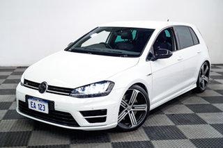 2017 Volkswagen Golf VII MY17 R DSG 4MOTION White 6 Speed Sports Automatic Dual Clutch Hatchback.